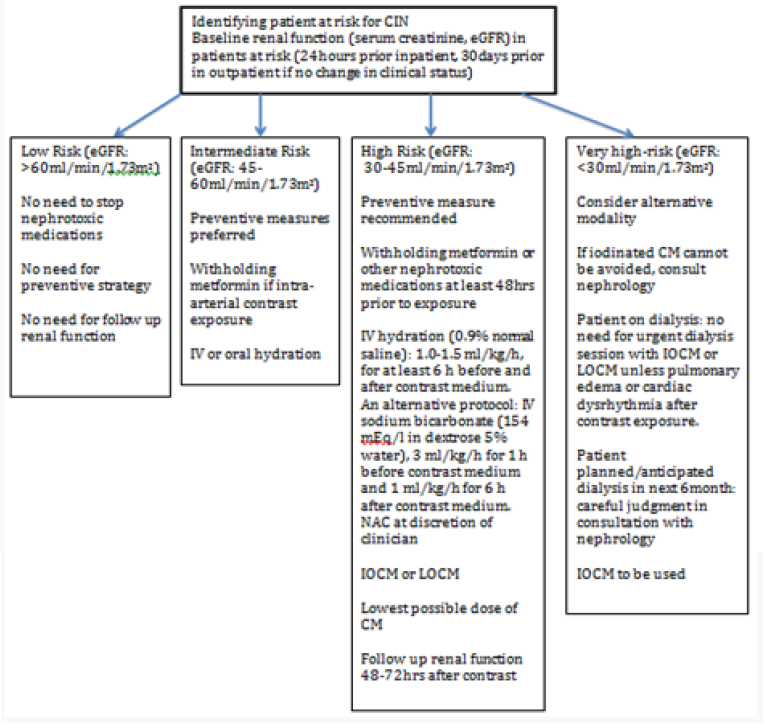 Contrast-Induced Nephropathy: Current practice
